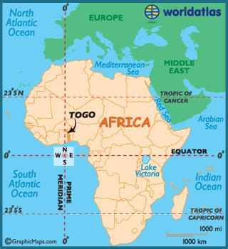 map of togo in africa togo map geography of togo map of togo worldatlas