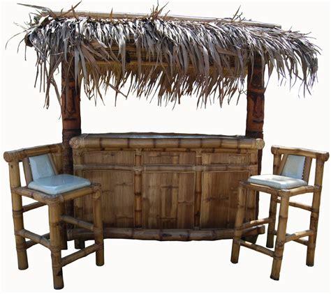 outdoor tiki bar furniture tropical garden furniture bamboo tiki huts bars benches lights and crafts