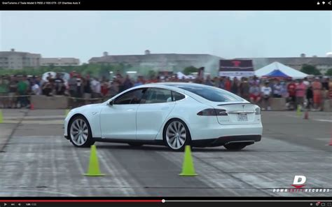 Tesla Contest Tesla Model S P85d Joins Maserati Granturismo And Nissan