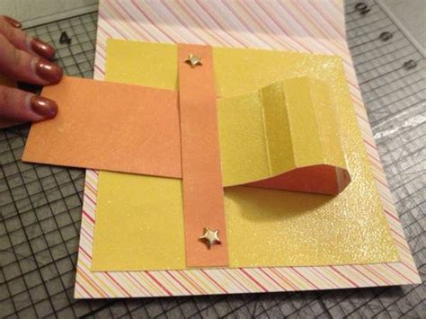 how to make pull out cards tutorial waterfall pull tab card emily s enchantments