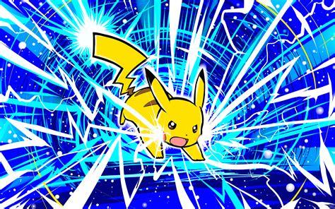 Pikachu Thunderbolt Wallpaper pikachu thunderbolt 5k retina ultra hd wallpaper