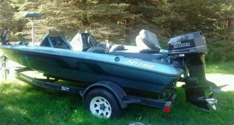 used bass boats wisconsin 1993 nitro bass for sale in new london wisconsin usa