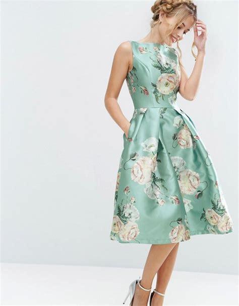 Promo Midi Dress Flower Vintage Product chi chi chi chi satin midi dress in floral print