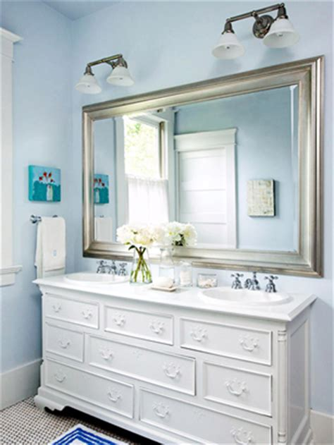 painting a bathroom vanity white before and after bathroom makeovers beneath my heart