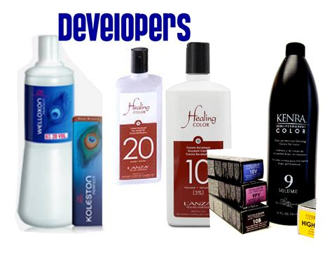 developer developer which hair color developer