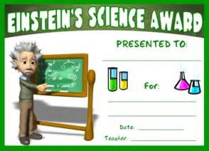 Science Award Certificate Template by Science Award Certificates