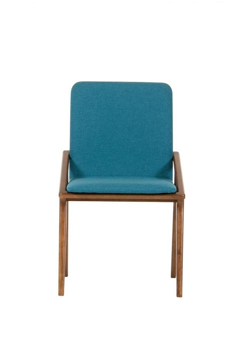 zeppelin modern blue dining chair set of 2