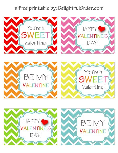 printable valentines tags delightful order free printable s day tags
