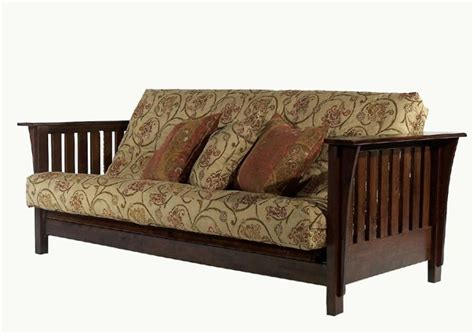 mission futon mission style futon chair made mission craftsman style