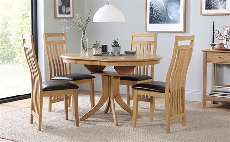 Dining Room Extending Table Sets Hudson Extending Dining Table And 6 Bali Chairs Set