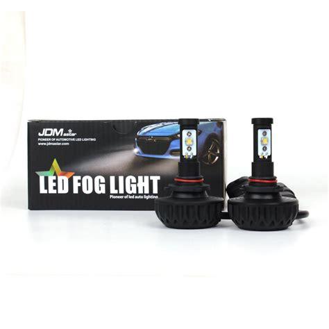 brightest led fog light bulbs jdm astar 2x 4400lm 9006 hb4 cree white led fog drl lights