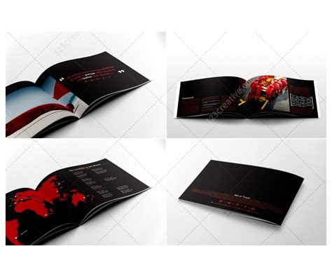 business brochure template professional brochure design psd