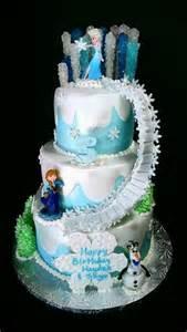 Frozen themed birthday cake showcasing elsa s power
