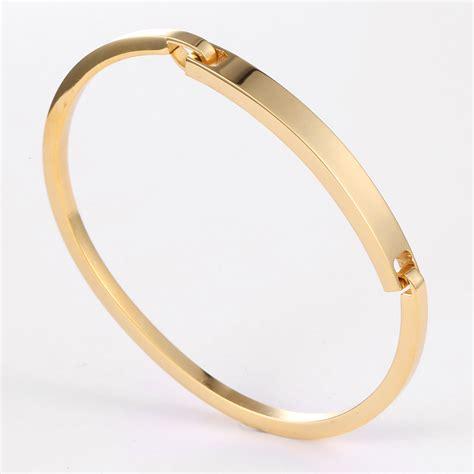 Fashion Bracelet Gold fashion brand bracelet 24k gold bracelets for