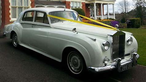 classic rolls royce silver cloud wedding car hire newport