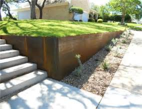 Landscaping El Paso by Front Yard Retaining Wall Idea