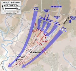 battle of cedar creek civil war virginia shenandoah valley