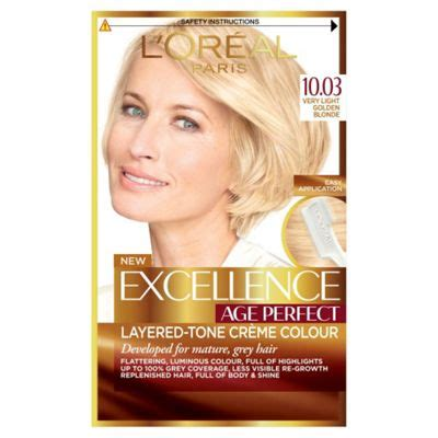 buy l39oreal loreal excellence hair buy l oreal excellence age 10 03 light