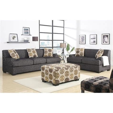 linen couch and loveseat poundex benford faux linen sofa and loveseat in review