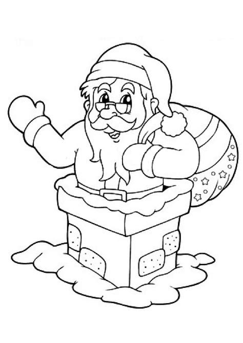 Pere Noel Dans La Cheminee by Coloriage Le P 232 Re No 235 L Dans La Chemin 233 E