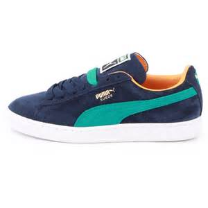 Pumas Shoes Suede Classic Suede Blue New Shoes Size 5 10