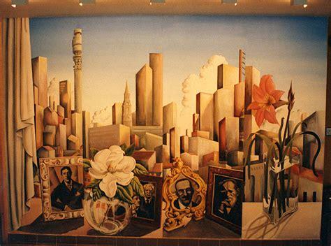 art deco  style catherine lovegrove murals