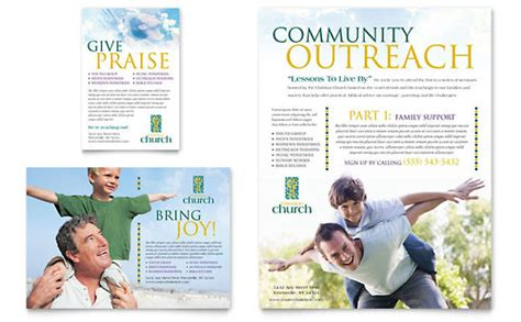 religious flyer templates religious organizations flyer templates designs