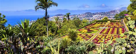 Madeira Botanical Gardens The Funchal Botanic Garden Madeira Portugal