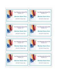 pta membership card template school pto membership cards pto today