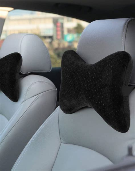 pillow car aeris car neck pillow for support premium memory