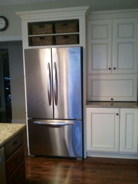 Refrigerator Kitchen Cabinets Refrigerator Cabinet Opening Height Mf Cabinets