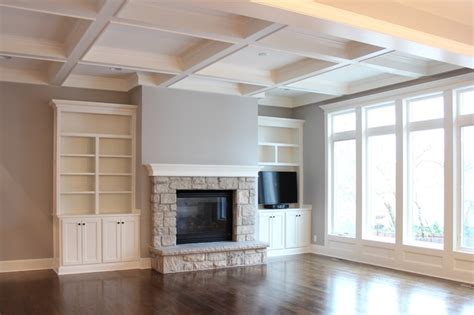mack white room great room with coffered ceiling traditional family room kansas city by mack colt homes