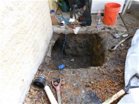 houston slab sewer line repair levelpro foundation