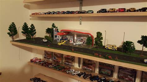 Garage Cabinet Design how to make a 1 64 scale diorama hotwheels diecast cars