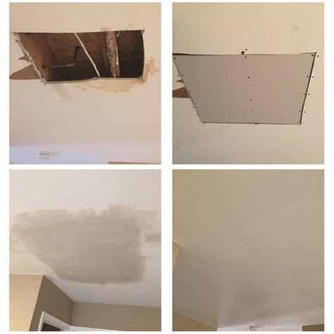 patch drywall ceiling water damage and drywall repair neill painting