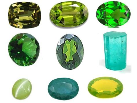 green gemstones gemstone meanings