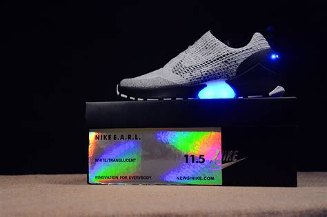 light up shoes nike nike hyperadapt mens womens light up shoes gray
