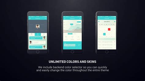 After Effects Template Iphone 6 App Presentation On Vimeo Iphone App Presentation Template