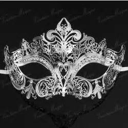 masquerade colors luxury silver black gold 3 colors metal laser cut