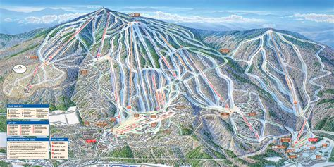 map of us ski area resort maps