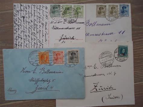 Brief Schweiz Luxemburg Luxemburg 1922 1929 Sch 214 Ne Wertbriefe In Die Schweiz Etc