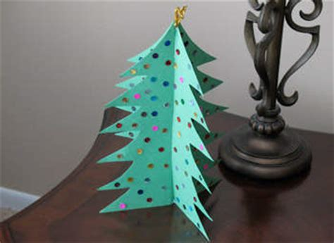 pop out christmas tree fun family crafts
