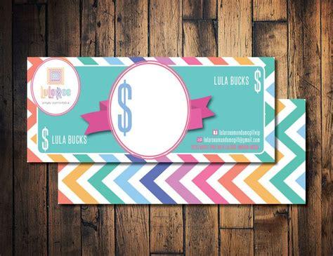Lularoe Gift Card Template by Lula Roe Lula Mula Lula Bucks Printable Lula