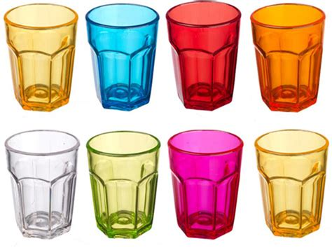 bicchieri da cocktail plastica set 10 bicchierini colorati da cocktail liquore
