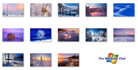 microsoft themes winter microsoft releases winter themepack for windows 7