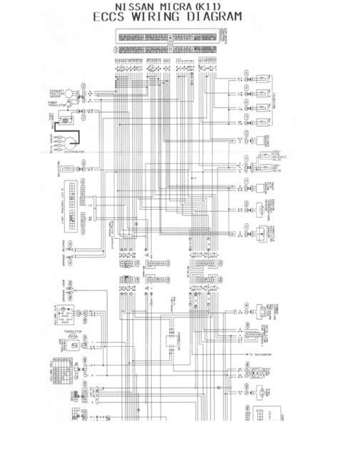 nissan micra wiring diagram k11 4k wallpapers