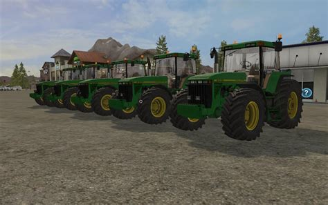 Ls For by Deere 8000 8010 V2 0 For Ls 17 Farming Simulator