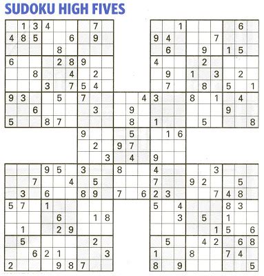 printable sudoku high fives printable sudoku high fives related keywords suggestions