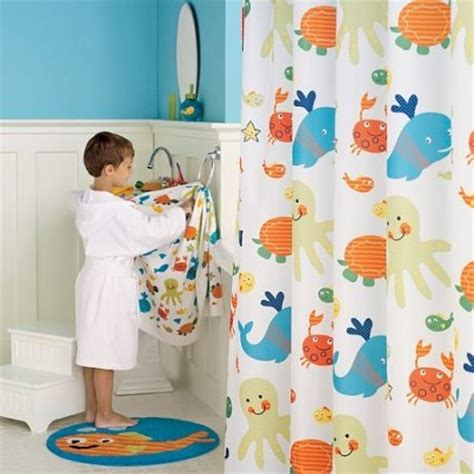 kids bath curtains how to decor kids bathroom interior designing ideas