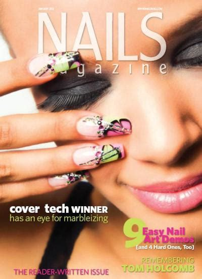 nail magazine nails magazine 226 january 2012 ingles